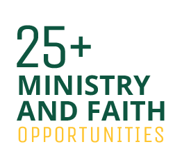 25+ Ministry and faith opportunities