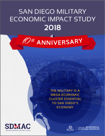 The cover photo of the 2018 SD Military Economic Impact Study