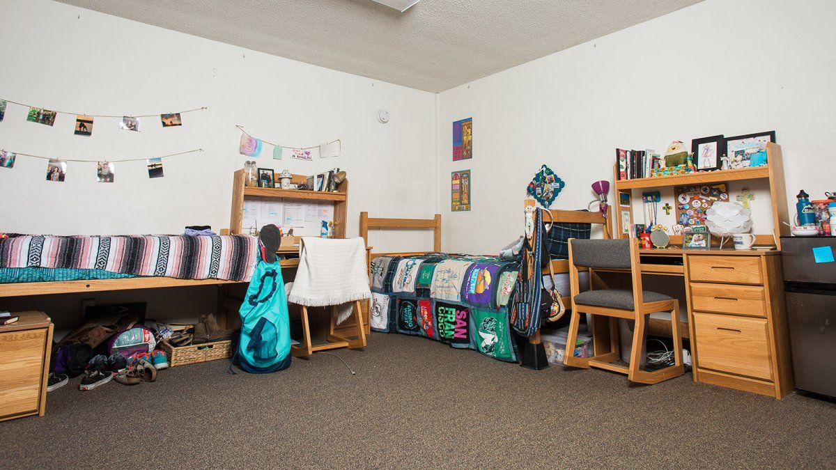 A Larger Fully Decorated Room In Hendricks Hall