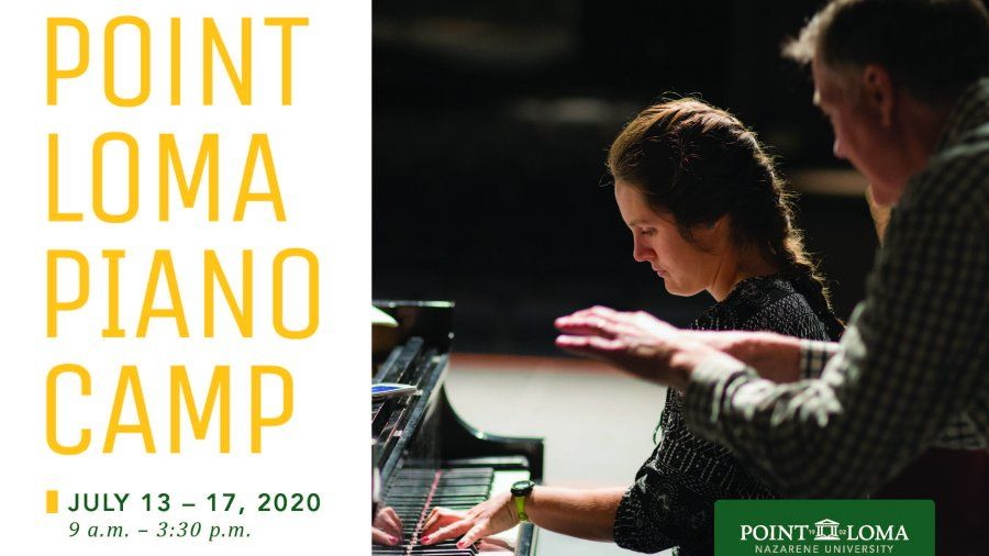 Point Loma Piano Camp 2020