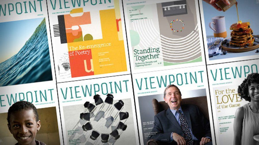 The Viewpoint magazine covers