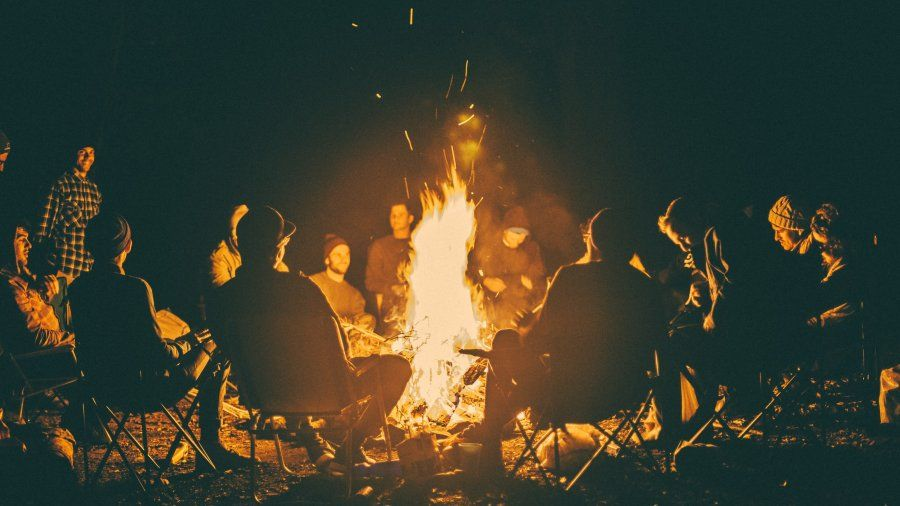 mens-retreat-campfire