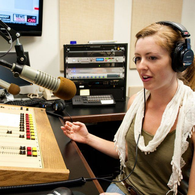 Andie Adams Broadcasting on Point Radio