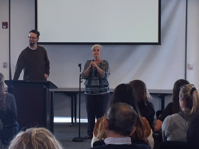Symposium with Sister Sue Mosteller and Shane Claiborne