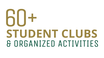 60 Plus Student Clubs and Organized Activities