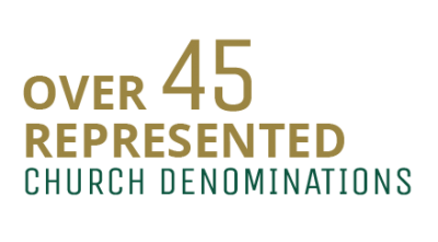 over 45 church denominations are represented at PLNU