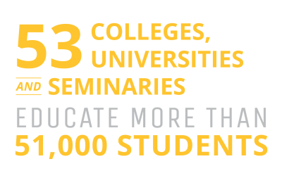 53 Colleges, Universities, and Seminars Educate More Than 51,000 Students