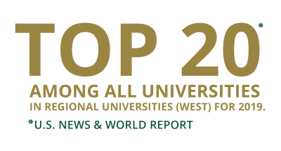 Top 20 Among all universities in regional universities west for 2019