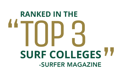 Top 3 Surf Colleges Ranking